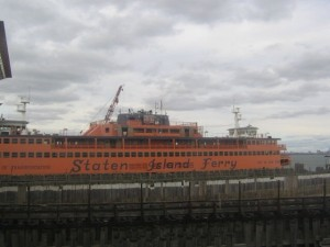 Staten Island Ferry, New York.