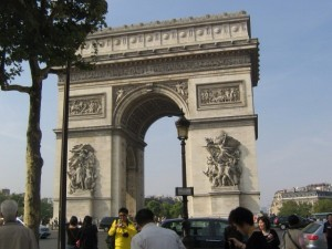 Photo of the Arc de Triomphe - Paris