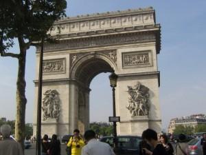 Photo of the Arc de Triomphe - Paris