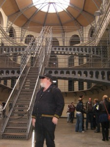 Photo of Greg at Kilmainham Gaol