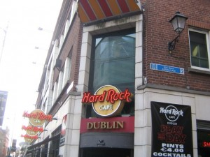 Photo of Hard Rock Cafe in Temple Bar Dublin