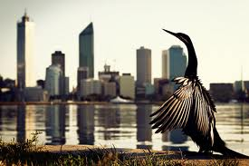 Perth Skyline from South Perth foreshore