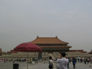 Palace Museum in the Forbidden City Beijing