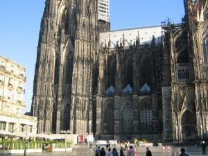 View of Cologne Cathedral Germany