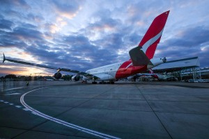 Photo of Sydney Airport Qantas A380 plane