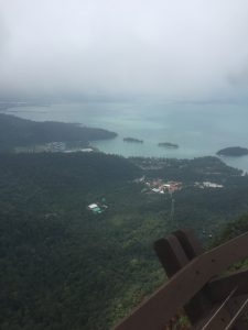 View from lookout at Langkawi SkyCab