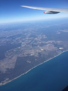 View of WA coastline near Geraldton