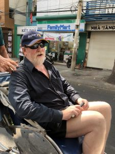 Photo from our Cyclo ride in Ho Chi Minh